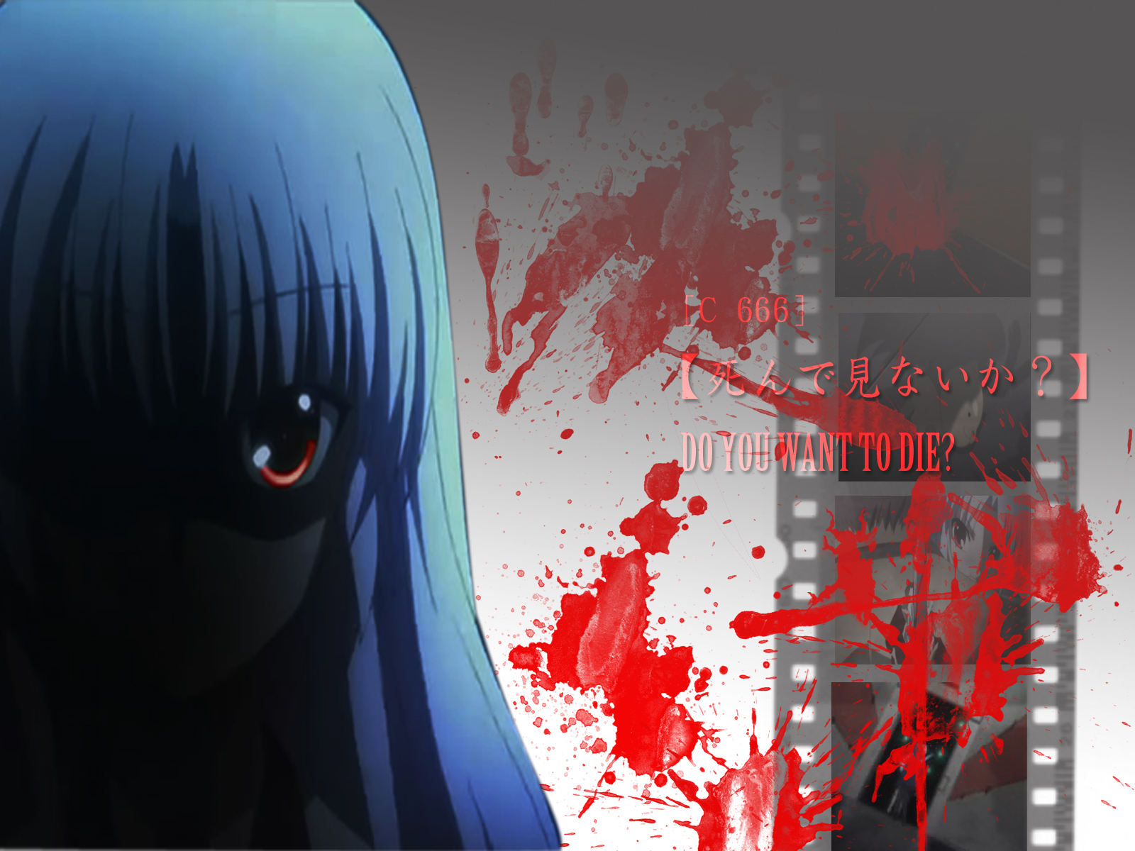 Angel Beats Anime Wallpaper-Angel Of Death | Haoh Kishin's